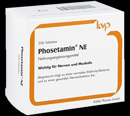 Packshot Phosetamin Nahrungsergänzungsmittel